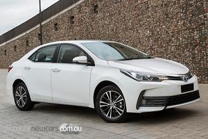 2018 Toyota Corolla SX Manual