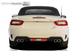 2018 Abarth 124 Spider Monza Edition Manual