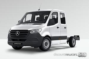 2019 Mercedes-Benz Sprinter 416CDI Medium Wheelbase Auto RWD Dual Cab