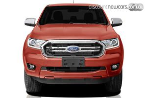 2018 Ford Ranger XLT PX MkIII Manual 4x4 MY19 Double Cab