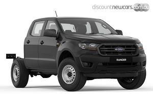 2018 Ford Ranger XL Hi-Rider PX MkIII Auto 4x2 MY19 Double Cab
