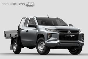 2019 Mitsubishi Triton GLX MR Manual 4x4 MY19