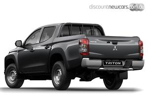 2019 Mitsubishi Triton GLX ADAS MR Manual 4x4 MY19 Double Cab