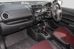 2019 Mitsubishi Mirage Black Edition LA Auto MY19