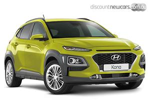 2019 Hyundai Kona Elite Auto AWD MY20