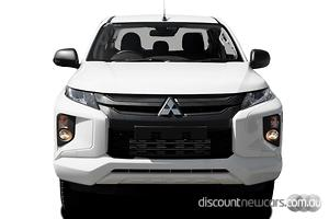 2021 Mitsubishi Triton GLX+ MR Manual 4x4 MY21 Double Cab