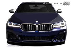 2021 BMW 5 Series M550i xDrive G30 LCI Auto 4WD