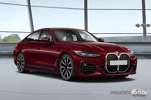 2021 BMW 4 Series 420i M Sport G26 Auto