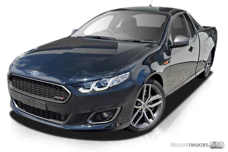 2015 Ford Falcon Ute FG X XR6 Turbo Sports Automatic