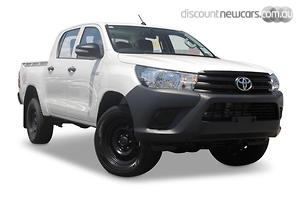 2019 Toyota Hilux Workmate Auto 4x2 Double Cab