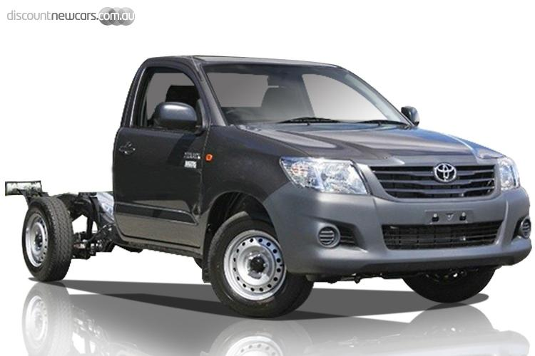 2015 Toyota Hilux Workmate Auto MY14