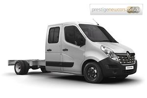 2018 Renault Master LWB Manual RWD Double Cab