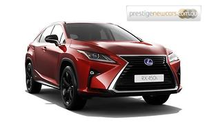 2018 Lexus RX450h Crafted Edition Auto 4x4